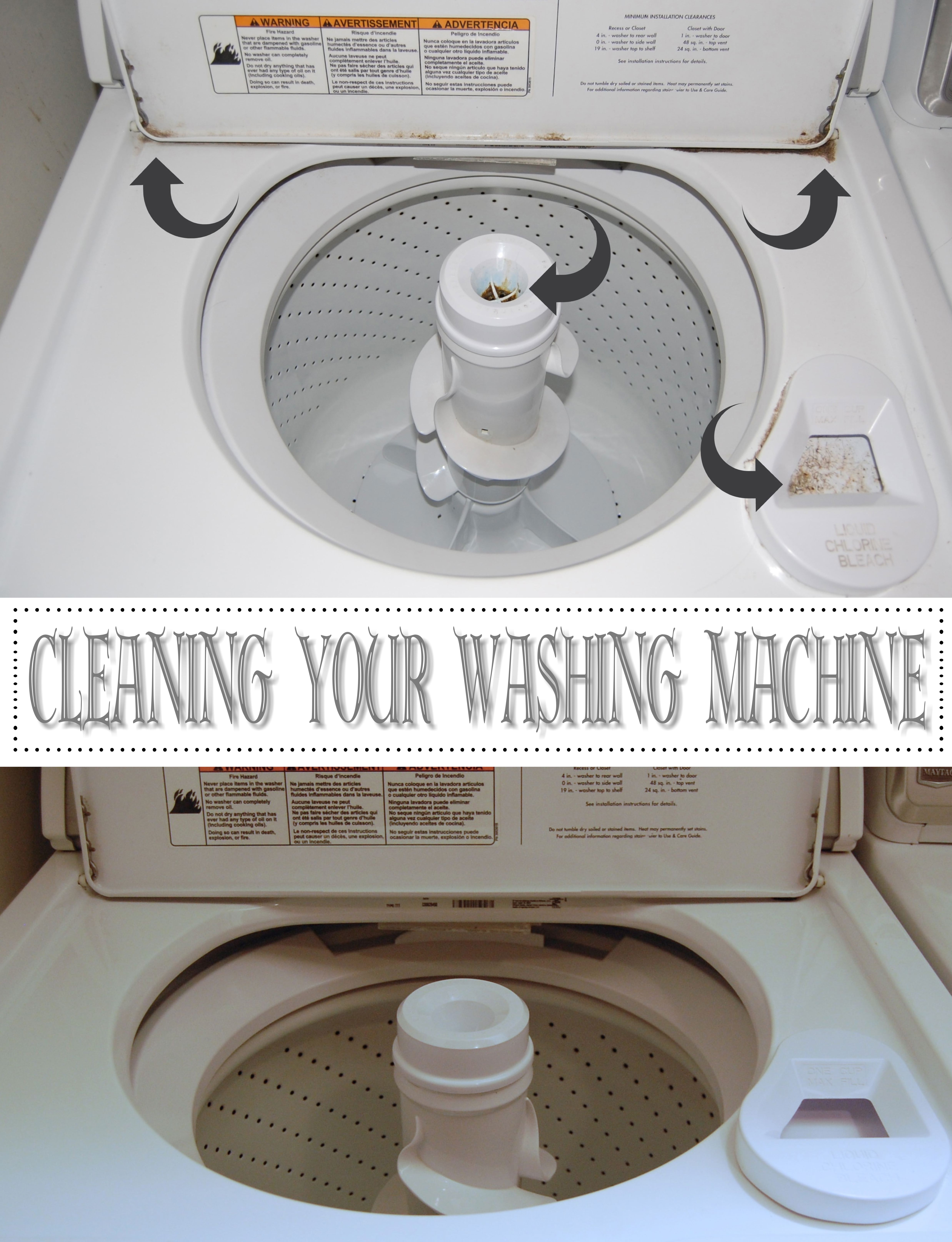 How To Clean Washing Machine Drain Pipe The top of the